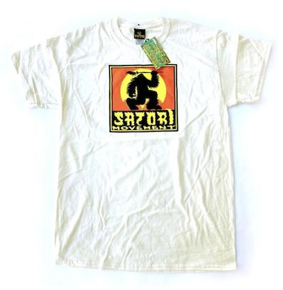 SATORI / SATORI x BIGFOOT CLASSIC BIGFOOT COTTON TEE NATURAL