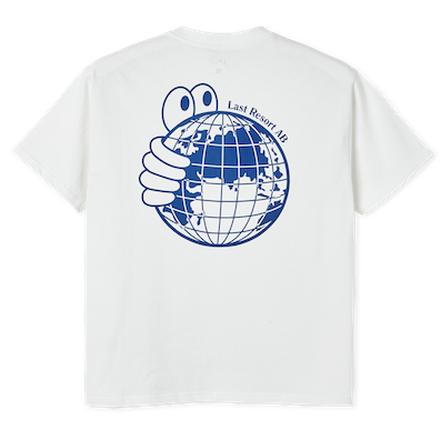 LAST RESORT AB / WORLD TEE -WHITE-