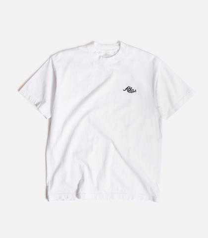 ATLAS / Embroidered Bofa T-Shirt - WHITE