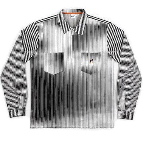 SNACK SKATEBOARDS / BUCK QUARTER ZIP WORK SHIRT