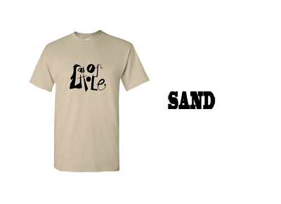 LOOPHOLE WHEELS / FACE THE FACTS TEE - SAND