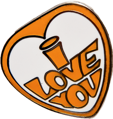 CARPET COMPANY / I LOVE YOU PIN