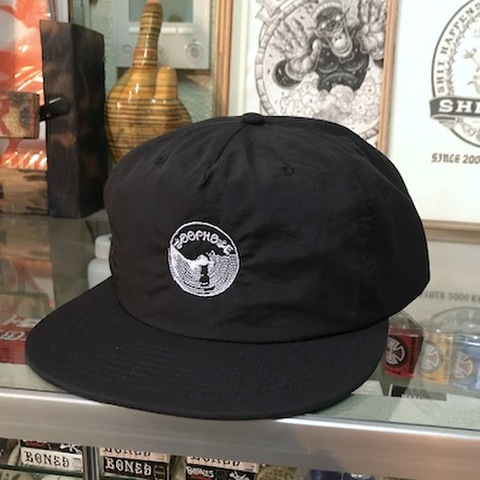 LOOPHOLE WHEELS / SURF CAP BLACK