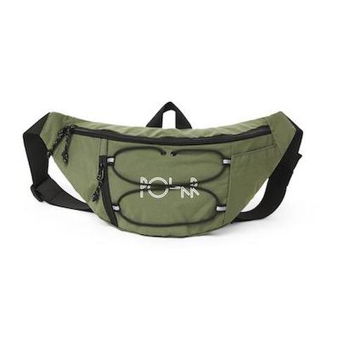 POLAR SKATE CO. / SPORT HIP BAG - DUSTY ARMY