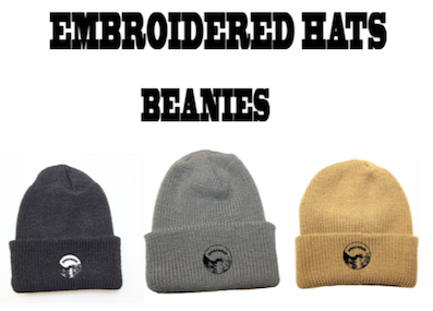 LOOPHOLE WHEELS / 'EMBROIDERED BEANIES