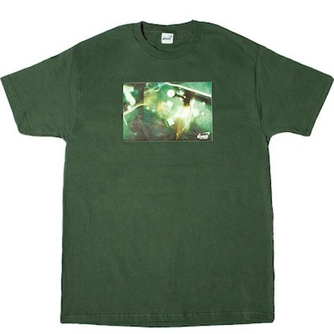 SNACK SKATEBOARDS / DICE TOURNAMENT TEE GREEN