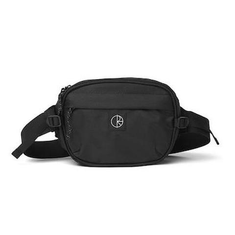 POLAR SKATE CO. / CORDURA HIP BAG - BLACK