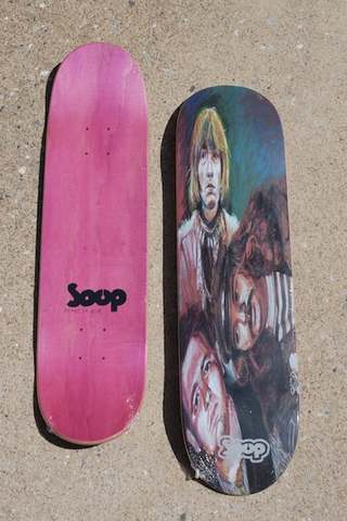 SOUP SKATEBOARDS / DECK [ 27CLUB DECK B  8 INCH ]