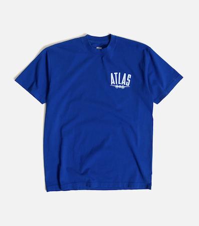 ATLAS / Atlas Plane Tee BLUE