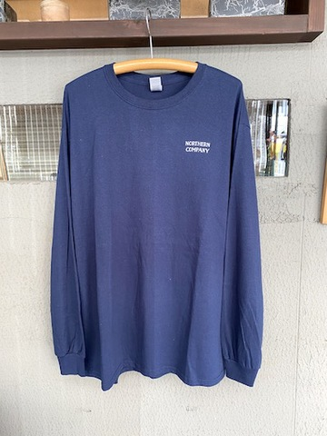 NORTHERN CO. / LOGO L/S TEE NAVY