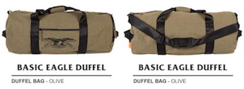 ANTIHERO / BASIC EAGLE DUFFLE BAG