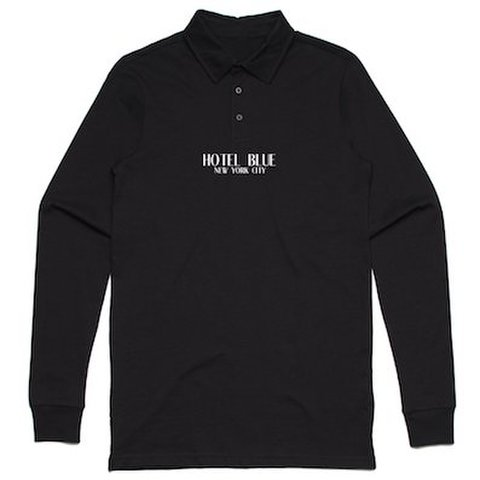 HOTEL BLUE / [POLO LOGO LONG SLEEVE]