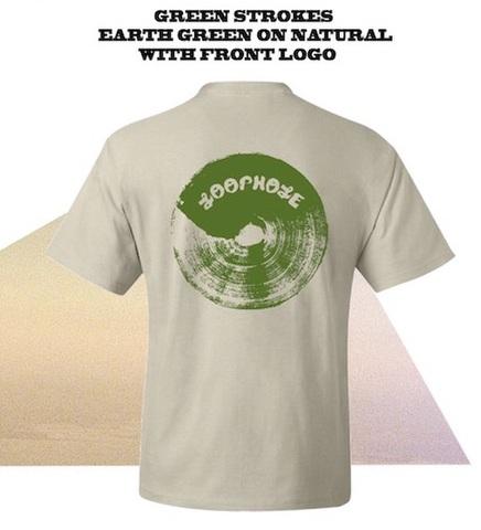 LOOPHOLE WHEELS / BRUSH TEE 100%COTTON