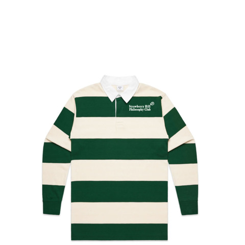 Strawberry Hill Philosophy Club / EMBROIDERED RUGBY