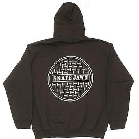 SKATE JAWN / SEWER CAP HOODIE - BROWN