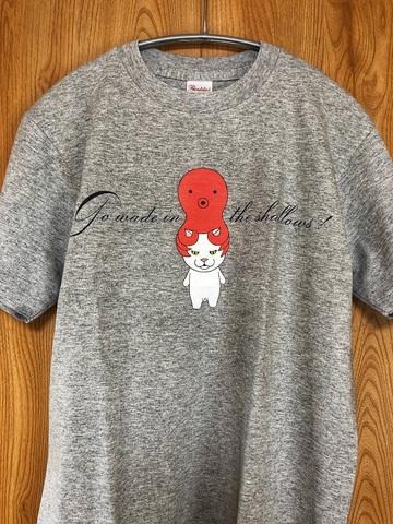 猫に蛸Tシャツ Sサイズ