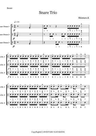 Snare Trio