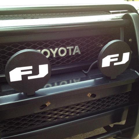 HELLA500 FJ ロゴカバー付