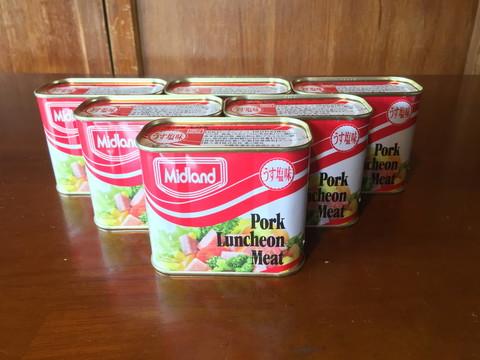 ミッドランドポークランチョンミート6缶セット