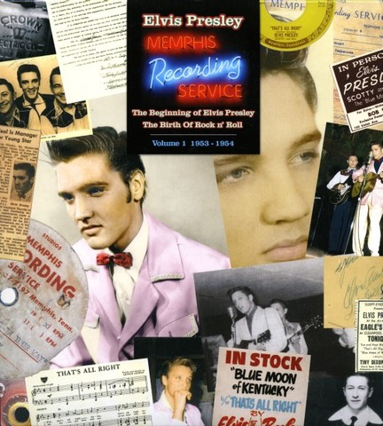 boxset『The Beginning of Elvis Presley, The Birth of Rock n' Roll - Vol. 1: 1953 - 1954