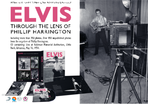 FTD写真集『Through The Lens Of Phillip Harrington』(book and 1-CD)