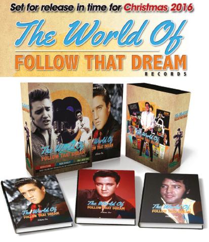 究極のFTDレーベル解説本『The World Of Follow That Dream』(3冊セット・スリップケース入り)