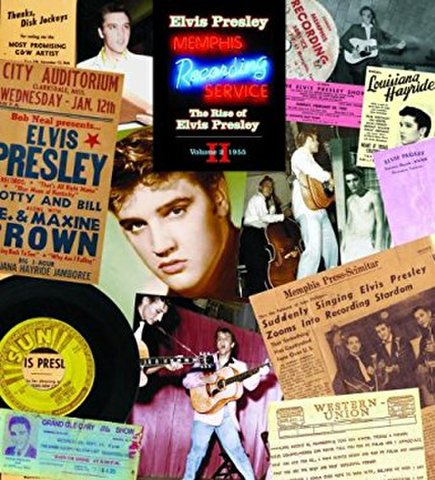 """boxset『The Rise of Elvis Presley – Volume 2: 1955 (7"""" + DVD-A + Book)』"""