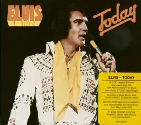 2CDs『Elvis Today』レガシーエディション(輸入盤)