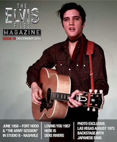 季刊写真誌『The Elvis Files Magazine』第18号