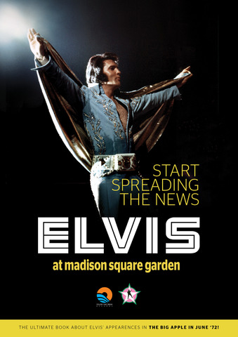 FTD写真集『Start Spreading The News - Elvis at Madison Square Garden』(book and CD)