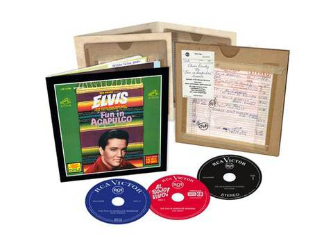 『Elvis: The Fun In Acapulco Sessions』(3-CDs)