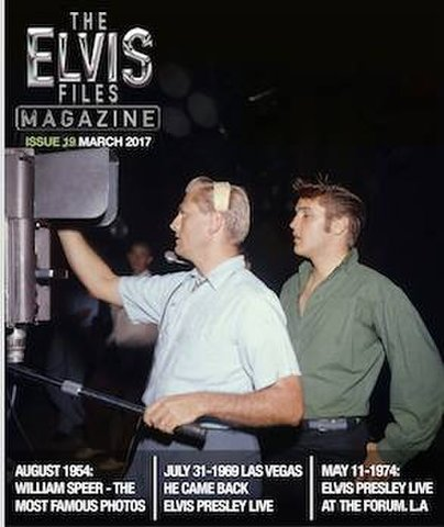 季刊写真誌『The Elvis Files Magazine』第19号