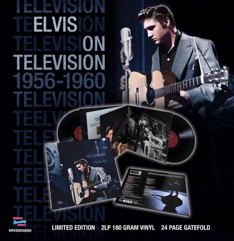 英MRS『Elvis On Television 1956-1960 : The Complete Sound Recordings』(2-LPs)