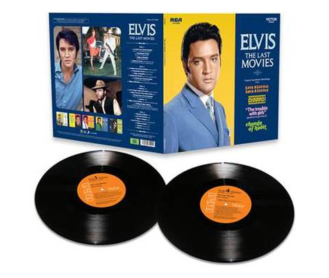FTDレコード『Elvis - The Last Movies』(2-LPs)