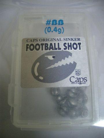 フットボールショット            CAPS