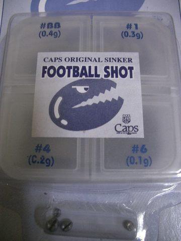 フットボールショット セット          CAPS