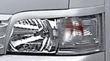 TOYOTA H200 ハイエース/レジアス ワイド用 ヘッドライトガーニッシュ
