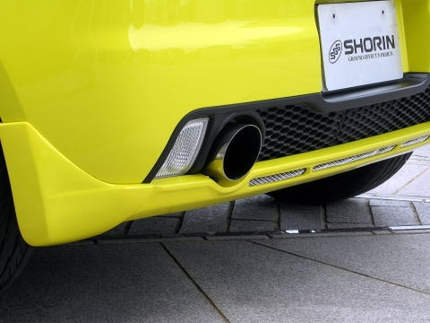 SHORIN製 スズキ スイフトスポーツ(ZC31S)純正マフラー用 マフラーカッター(Φ100)
