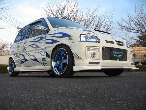 L500 ミラ フロントリップスポイラー