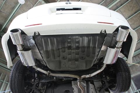 SHORINオリジナルマフラー HONDA RB1オデッセイアブソリュート用 マフラーカッターデュアルセット