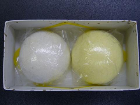 上用まんじゅう(大) 黄白1組箱入り