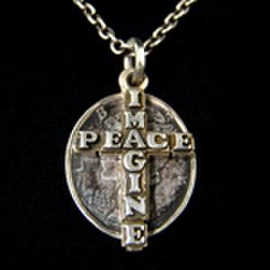 IMAGINE PEACEコイン2連ネックレスネックレス