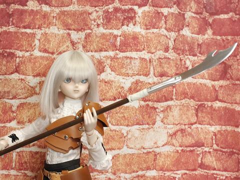 偃月刀風グレイブ 1/3ドール用金属製武器259