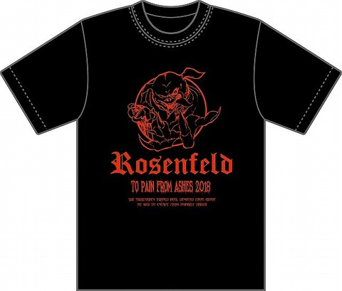 2018・ROSENFELD-TO PAIN FROM ASHES-T-SHIRT (PIGS)
