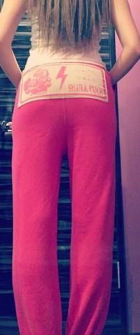 セットアップボトムス ピンクXピンク