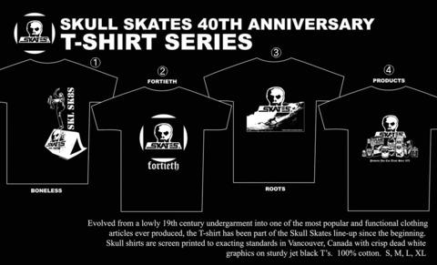 (予約)5月入荷 40周年記念Tシャツ