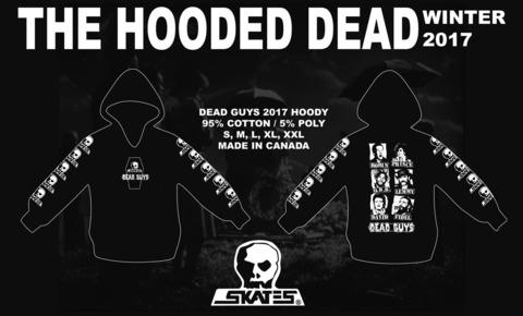 (予約)12月入荷 DEAD GUYS 2017 フードスウェット