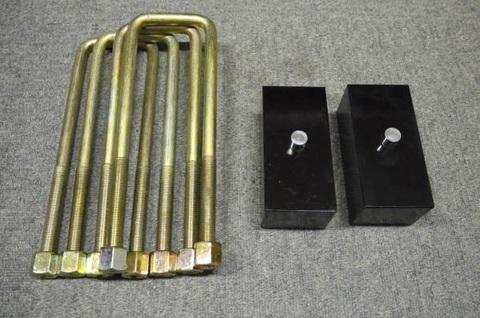2インチ リヤ リフトアップブロック&角ボルト kit(TOYOTA)