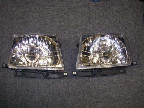 1997-2000 TACOMA クリスタルヘッドライト 2WD/4WD インナークロームタイプ