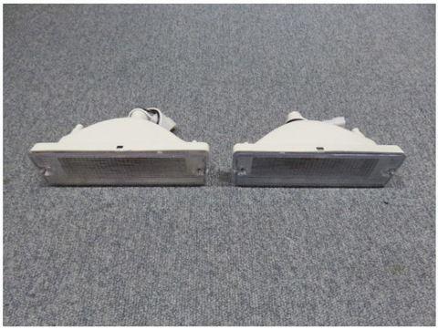 1986-97 ダットサン D21 クリアーバンパーランプ Pr USバンパー用